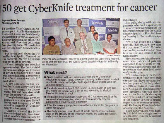Cyber knife Apollo Chennai Dr.L.Murugan.jpg